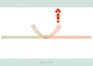 紅白蝶結び(10本)